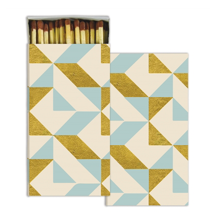Colette Gold Foil Matches