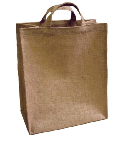 Large Jute Grocery Bag