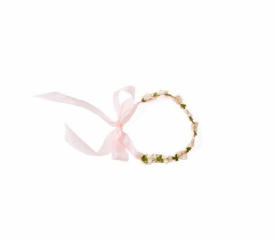 Posy Pink Flower Crown for Dolls