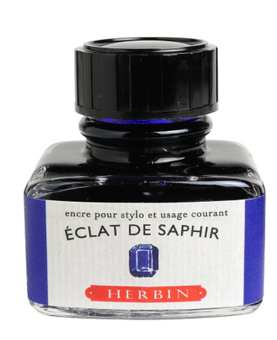 Éclat de Saphir J. Herbin Fountain Pen Ink
