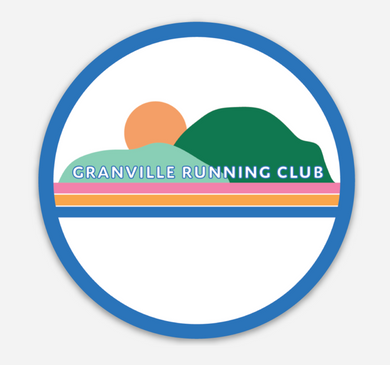 Granville Running Club Sticker