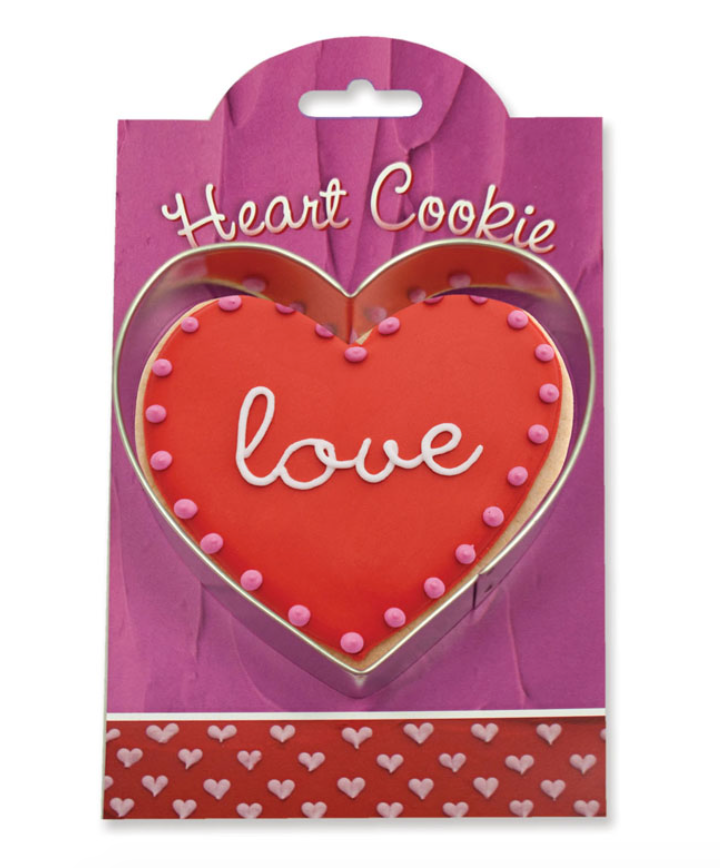 Make More Cookies Heart Cookie Cutter