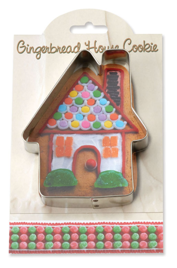 Make More Cookies Gingerbread House Cookie Cutter
