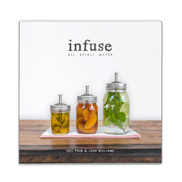 Infuse: oils, spirit, water