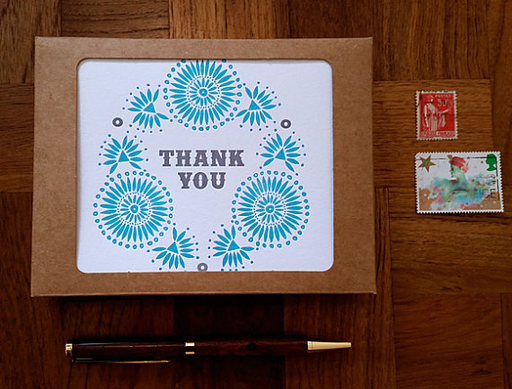 Thank You Native Pattern Cards