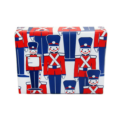Toy Soldier Gift Tag Sticker Set