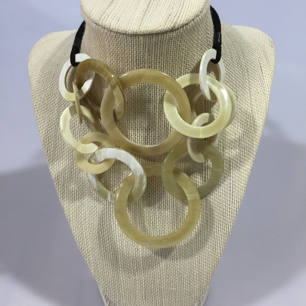 Circular Horn Necklace