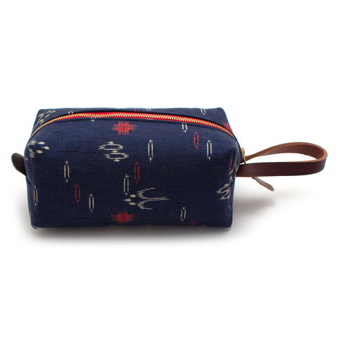 1970s Kyoto Ikat Travel Kit