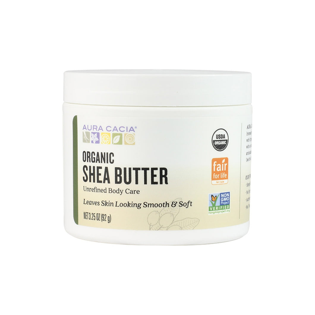 Fair Trade Certified Organic Unrefined Shea Butter