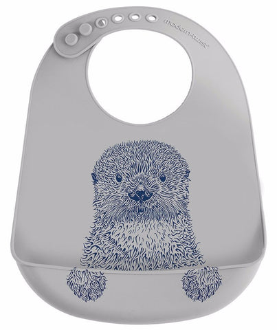 Bucket Bib - Otter - Blue