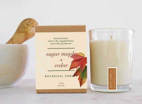 Sugar Maple + Cedar Candle