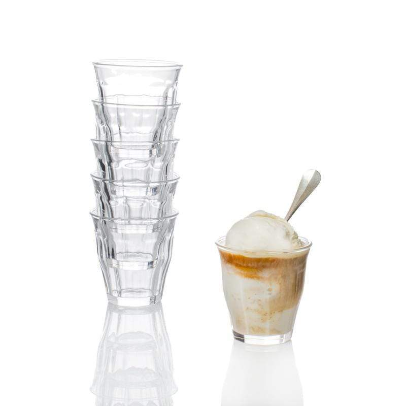 Bistro Glasses Clear, Set of 6