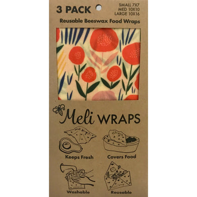 Beeswax Meli Food Wraps Bloom