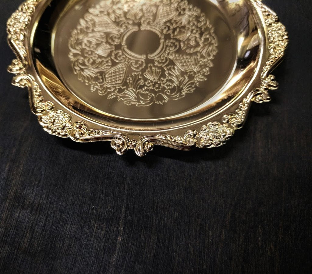 Gold Soap Dish