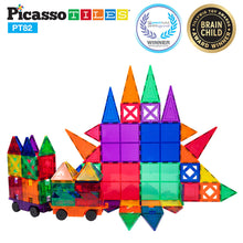 PicassoTiles - 82 Piece Magnet Creativity Set
