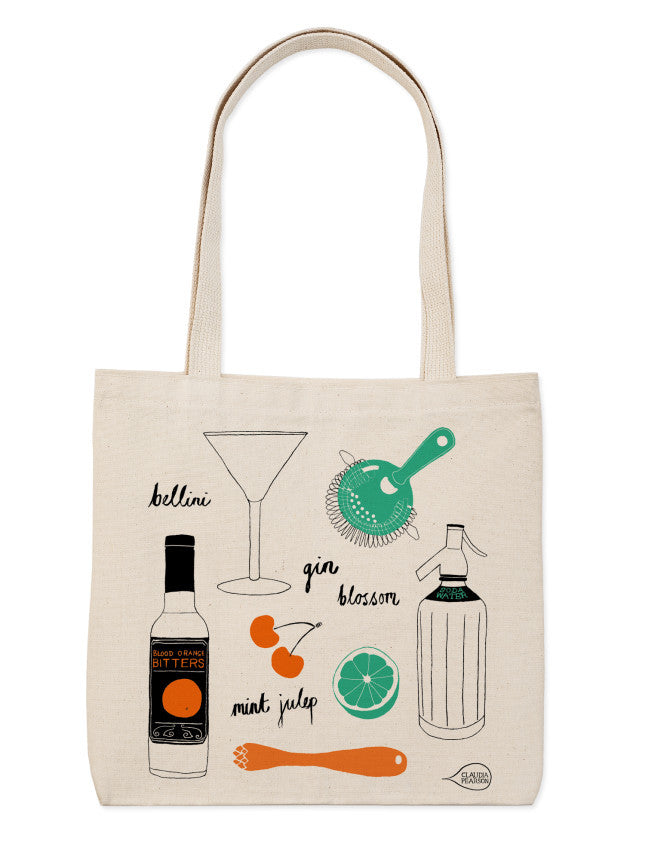 Cocktail Everyday Tote