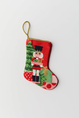 Bauble Stockings - Nutcracker Bauble Stocking