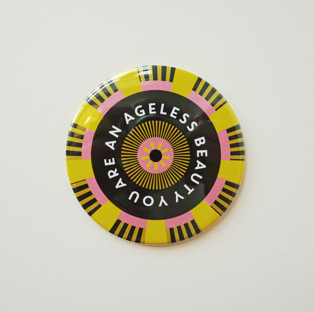 Ageless Beauty Pocket Mirror