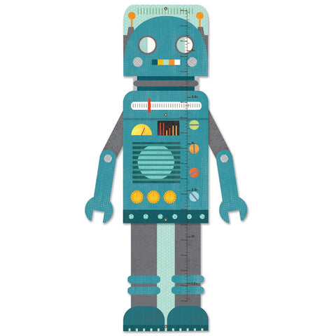Blue Robot Growth Chart