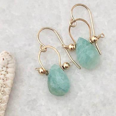 Amazonite Santorini Earrings