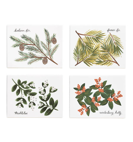 Winter Foliage Assorted Card Set