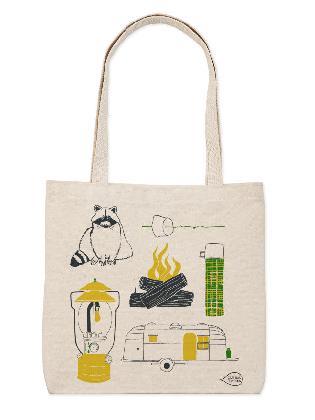 Camping Everyday Tote