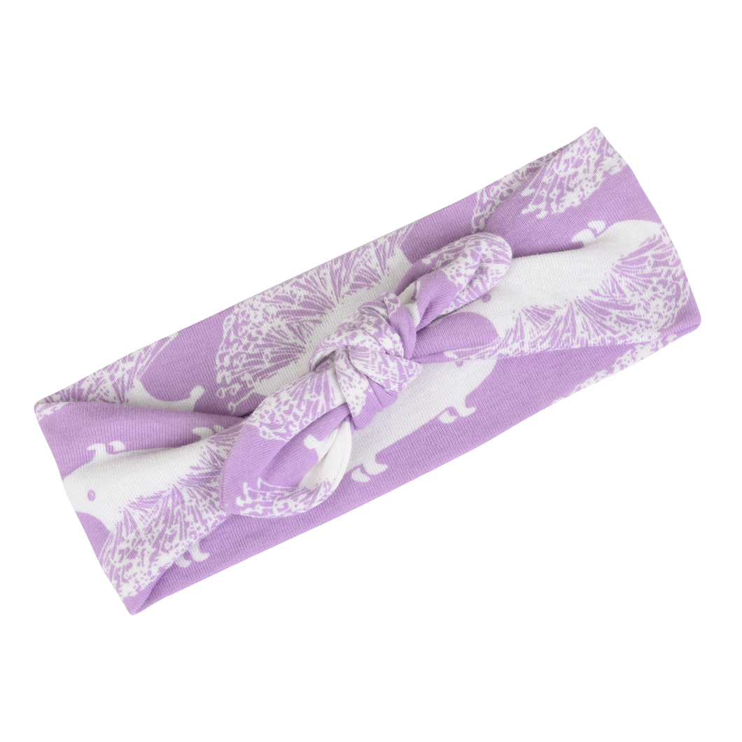 Lavender Hedgehog Headband