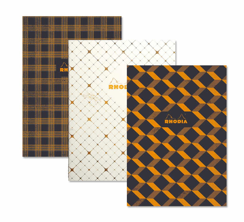 Sewn Spine Rhodia Heritage Notebooks
