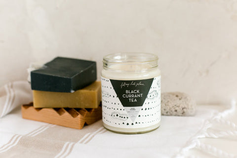 Black Currant Tea Soy Candle