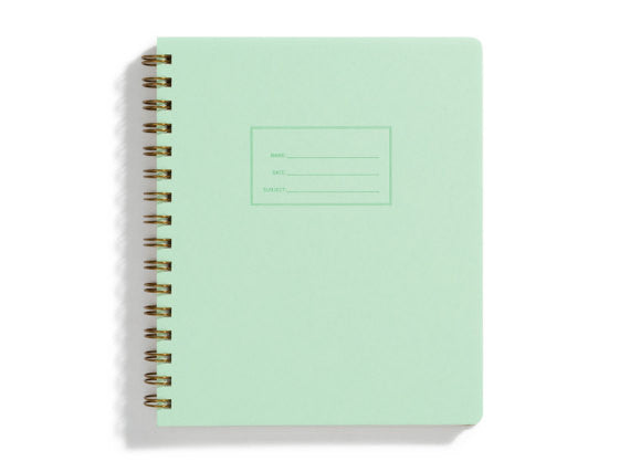 The Standard Notebook. mint with lined rule pages.