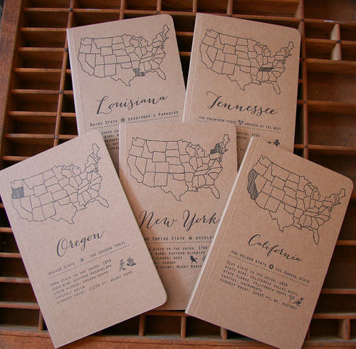 Letterpress State Notebook