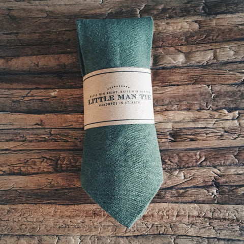 Forest Little Man Tie