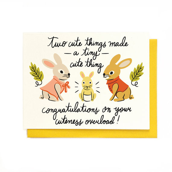 Tiny Cute Thing Baby Card