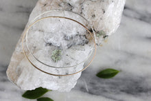 Hammered Oval Bangle :: silver or gold
