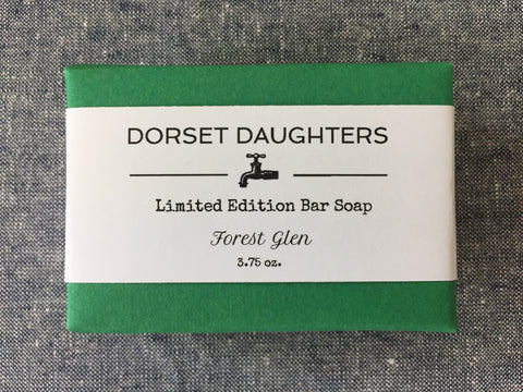 Forest Glen Bar Soap. Limited Edition.