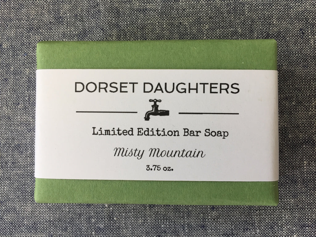 Misty Mountain Bar Soap. Limited Edition.