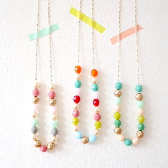 Layering Beaded Strand Necklace
