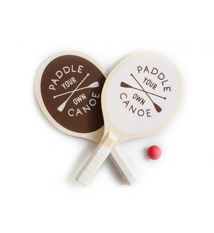Paddle Your Own Canoe Paddle Ball Set