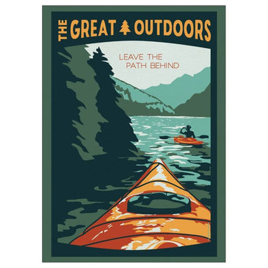 Leave the Path Behind Postcard  | Great Outdoors series