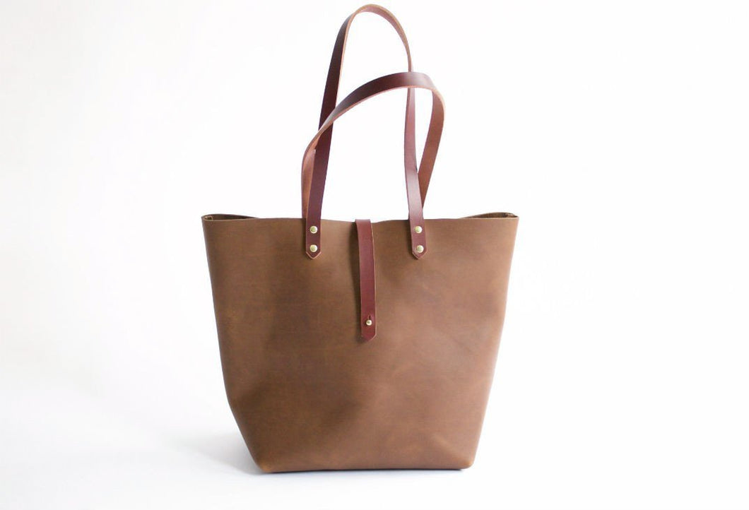 The Louise Tote - Cocoa