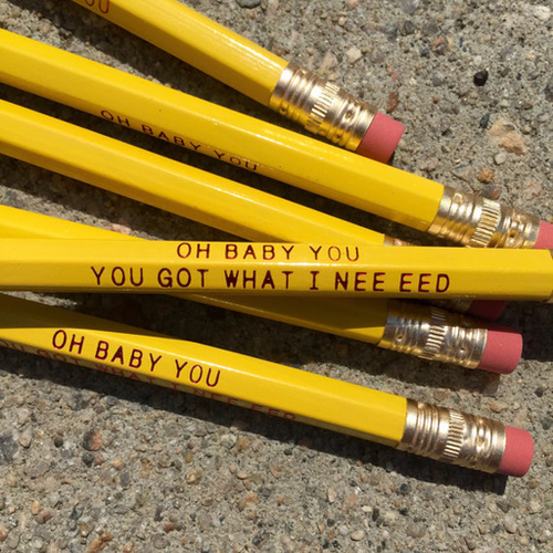 Oh Baby You... Pencil Set