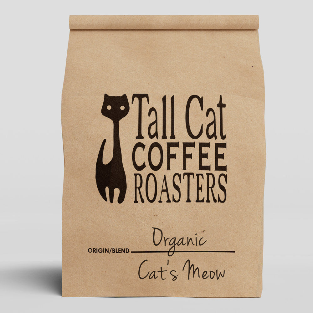 Organic Cat's Meow Coffee Blend