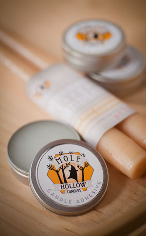 Mr. Mole's Sticky Wax Candle Adhesive