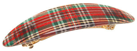 Coastline Medium Barrette, Tartan Plaid :: assorted patterns