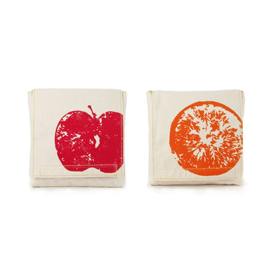 Apples + Oranges Snack Pack, Set of 2