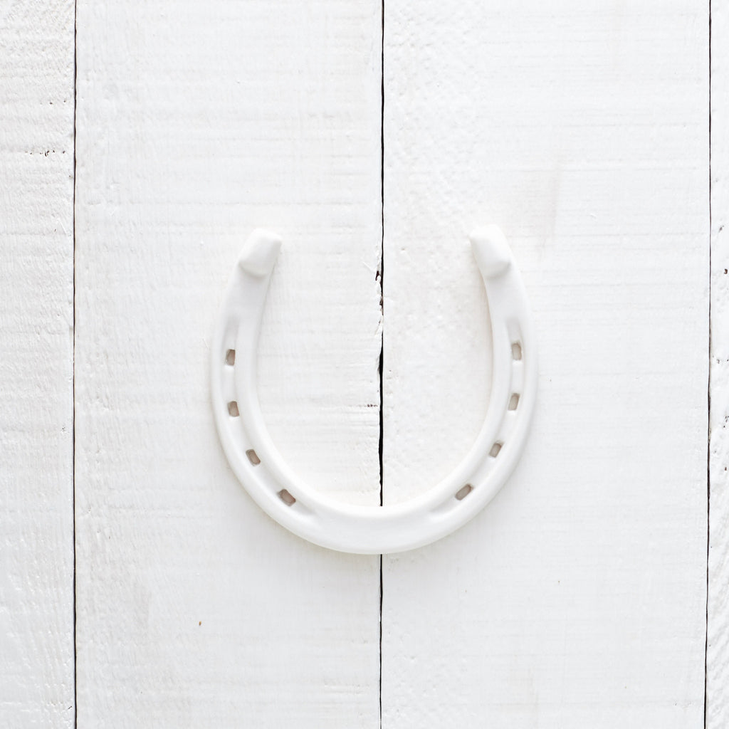 Good Luck Porcelain Horseshoe