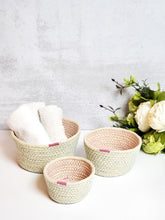 Amari Bowl in Pink Set of 3