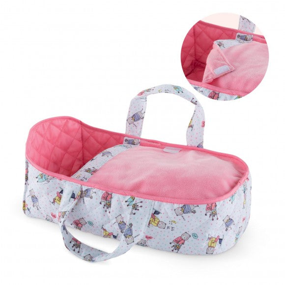 Corolle Carry Bed for 12-Inch Baby Dolls