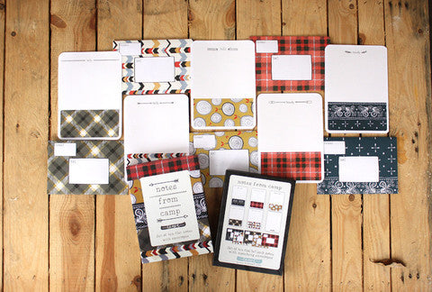 Notes from Camp Boxed Stationery Set