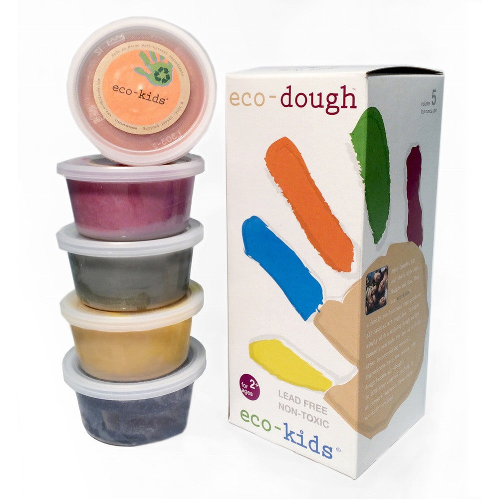 eco-dough. (5) 4 oz. containers